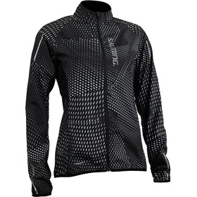 Salming Ultralite 3.0 Chaqueta Mujer, black all over print